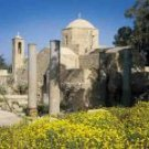 paphos cyprus - a church in paphos
